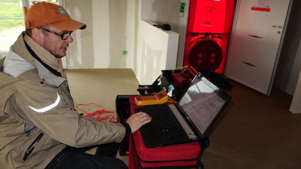 Test d'étanchéité à l'air RT2012